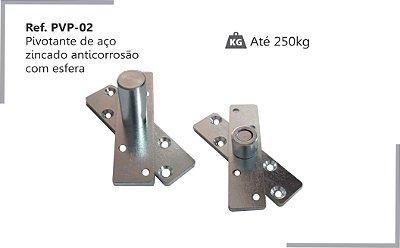 PERFIL - Pivotante p/ Porta em Aço Zincado Anticorrosão - PVP-02