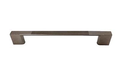 Criativa Maxima - Puxador p/ Móveis 1029 - 160mm - Zamac - Escovado/Cromado