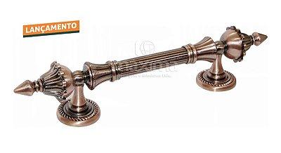 Criativa Maxima - Puxador Colonial  T0185 - 150mm - Cobre Rústico