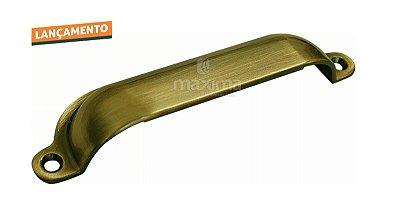 Criativa Maxima - Puxador p/ Móveis 1132 - 120mm - Antique Brilhante