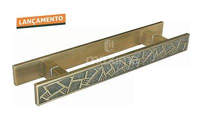 Criativa Maxima - Puxador p/ Porta MAX7413- 500mm - Alumínio - Antique Fosco