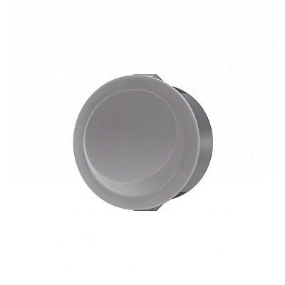WEG - Interruptor de Embutir Redondo - Paralelo - 12A/250VCA - Cinza