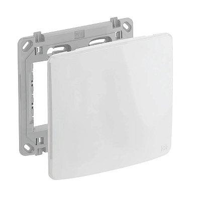 WEG - Composé - Placa e Suporte Cega 4x4 - Branco
