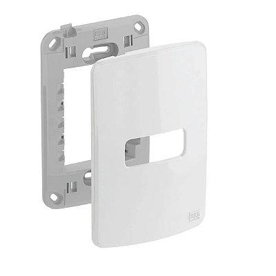 WEG - Composé - Placa e Suporte 4x2 - 1 Posição - Branco
