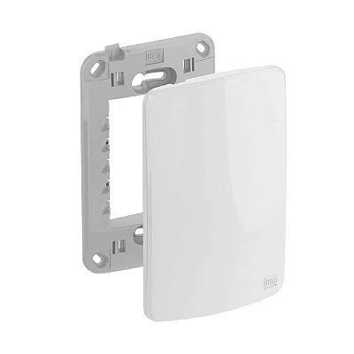 WEG - Composé - Placa e Suporte Cega 4x2 - Branco