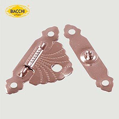 Biacchi - Fecho p/ Artesanato 5120 - Aço Niquelado