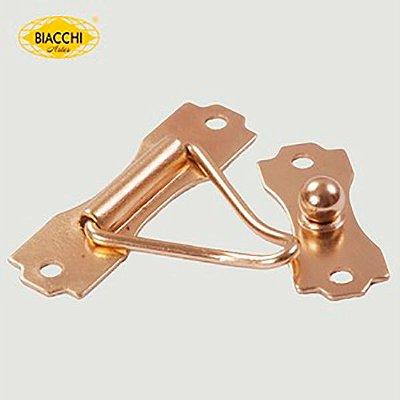 Biacchi - Fecho p/ Artesanato 5300 - F.G - Aço Latonado