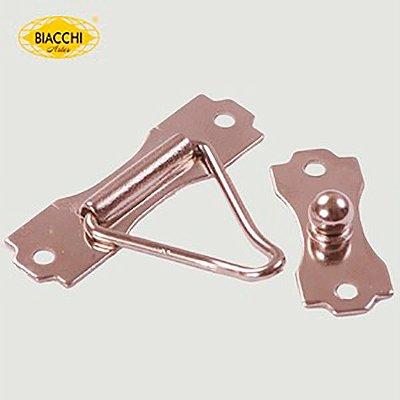 Biacchi - Fecho p/ Artesanato 5300 - F.G - Aço Niquelado