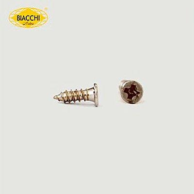 Biacchi - Parafuso Cabeça Chata - 7 x 2,20mm - Aço Niquelado