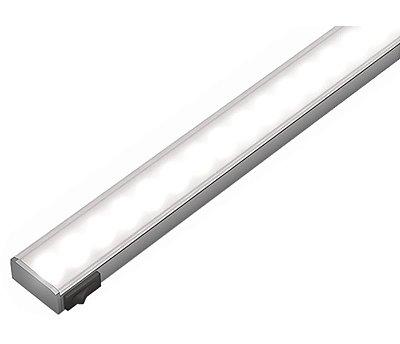 Artetílica Nuze - Luminária Slim Sobrepor Interruptor - Super LED 5000K - 12V 500mm Alumínio - KA552.85.500A