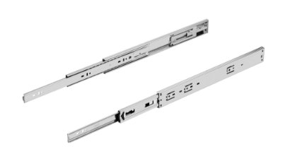 Hardt - Corrediça Telescópica H45 Soft Closing 45kg - 45cm - Zincado - B7018ZN