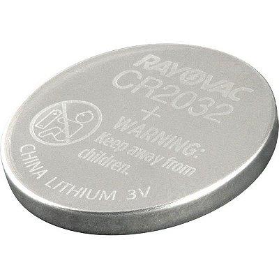 RAYOVAC - Pilha Botão Eletrônico - CR2032