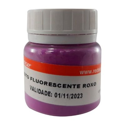 Redelease - Pigmento Fluorescente em Pó - Roxo (15g)