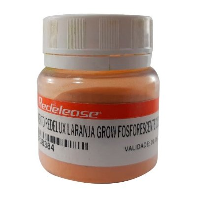 Redelease - Pigmento Fosforescente Redelux - Laranja Glow (50g)