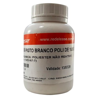 Redelease - Pigmento Branco Poli - 100g
