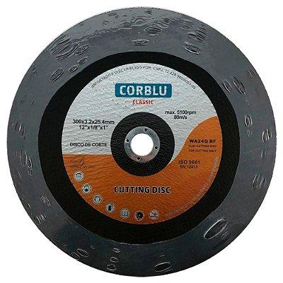 """CORBLU - Disco de Corte Classic 12"""" - 300mm"""