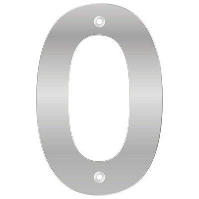 Bemfixa - Número Residencial ABS 0 - Alumínio - 145mm