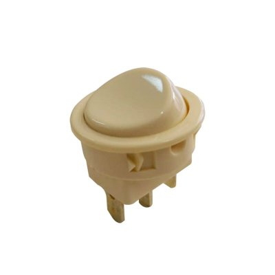 MARGIRIUS  - Chave Interruptor p/ Móveis 16101 - 6A Bege