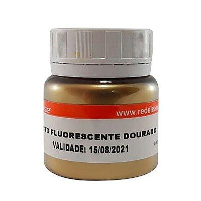 Redelease - Pigmento Fluorescente em Pó - Dourado (15g)