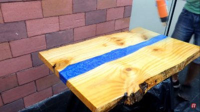 Redelease - Kit Resina River Table DIY - Baixa Viscosidade