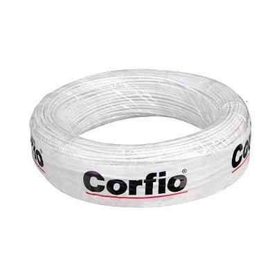 Corfio - Rolo Cabo Flexível 750V 01,50mm 100MT Branco - Antichama BWF (ftz)