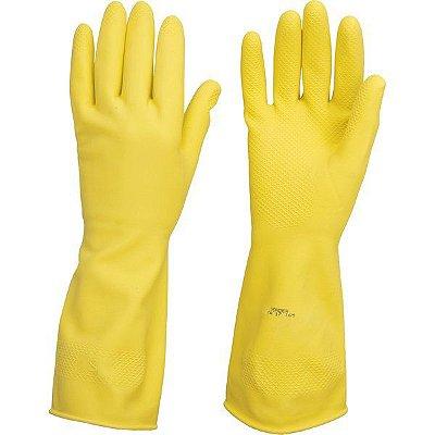 VONDER  - Luva Latex Antiderrapante Amarela c/ Forro - Tamanho XG