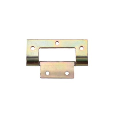 Alutec - Dobradiça c/ Dobra p/ Móveis 1010 - 35mm - Bicromatizado