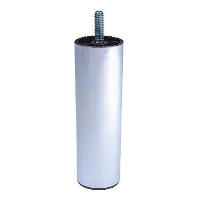 Alutec - Pé p/ Móveis 10 - 130mm - Cromado