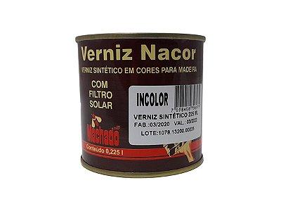 Machado - Verniz Nacor Sintético - Incolor - 225 ML