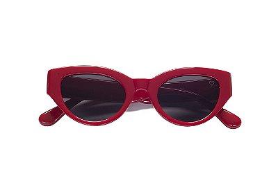 Óculos Retrô Sugar Vermelho