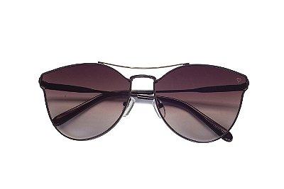 Óculos de Sol Kessy Romana Marrom