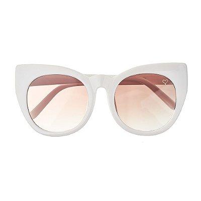Óculos de Sol Kessy Valle Branco