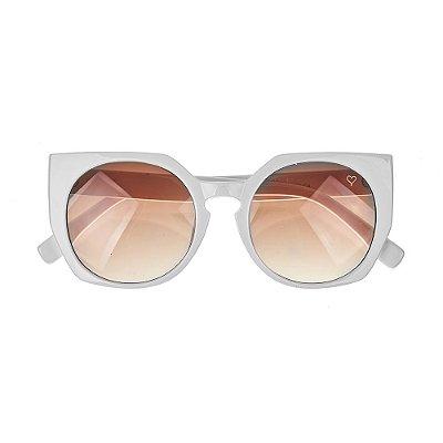 Óculos de Sol Kessy Beauty Branco