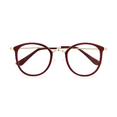 Óculos de Grau Kessy 840 Vinho