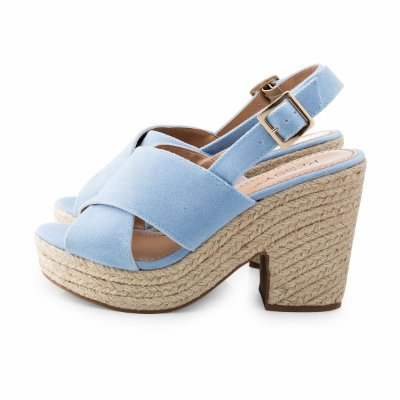 Sandália Kessy Trend Azul