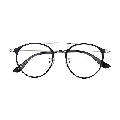 Óculos de Grau Kessy 910 Preto Prata