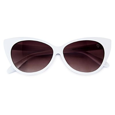 Óculos de Sol Kessy Cat Branco