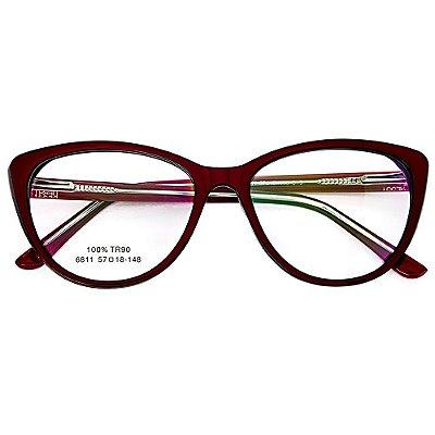 Óculos de Grau Kessy 915 Vinho