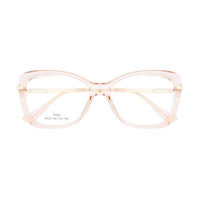 Óculos de Grau Kessy 920 New Dourado