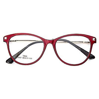 Óculos de Grau Kessy 940 Vinho