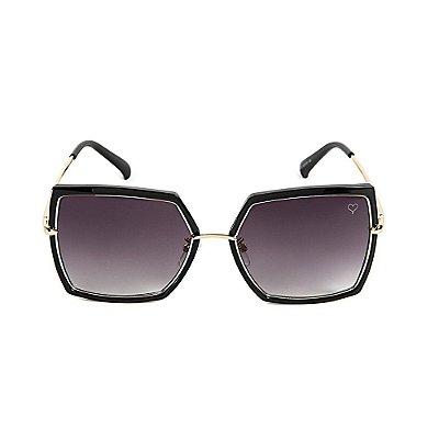 Óculos de Sol Kessy Canvas Preto