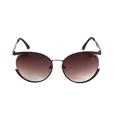 Óculos de Sol Kessy Loren Marrom
