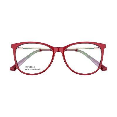 Óculos de Grau Kessy 735 New Vinho