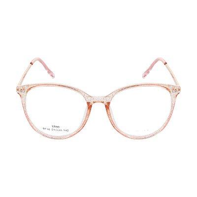 Óculos de Grau Kessy 945 New Dourado Glitter