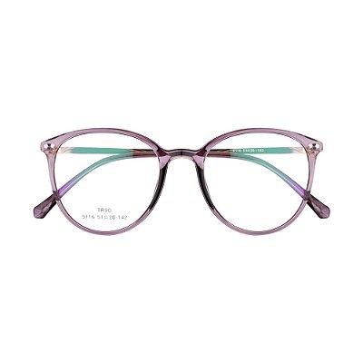 Óculos de Grau Kessy 945 New Preto Transparente