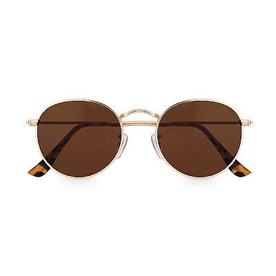 Óculos de Sol Kessy Round Marrom