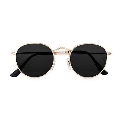 Óculos de Sol Kessy Round Preto