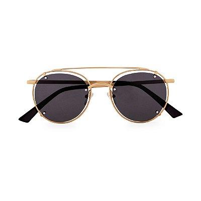 Óculos de Sol Kessy Vita Preto Dourado