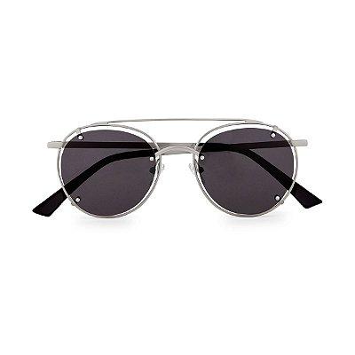 Óculos de Sol Kessy Vita Preto Prata