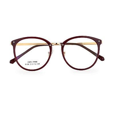 Óculos de Grau Kessy 100 Vinho